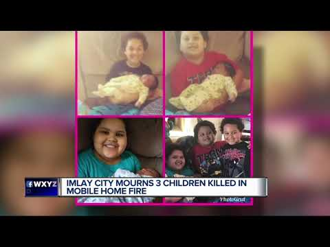 Imlay city mourns 3 children killed in mobile home