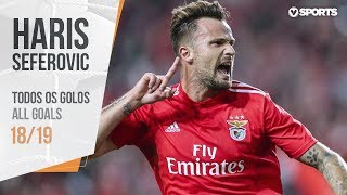 Haris Seferovic: Todos os Golos (Liga 18/19)