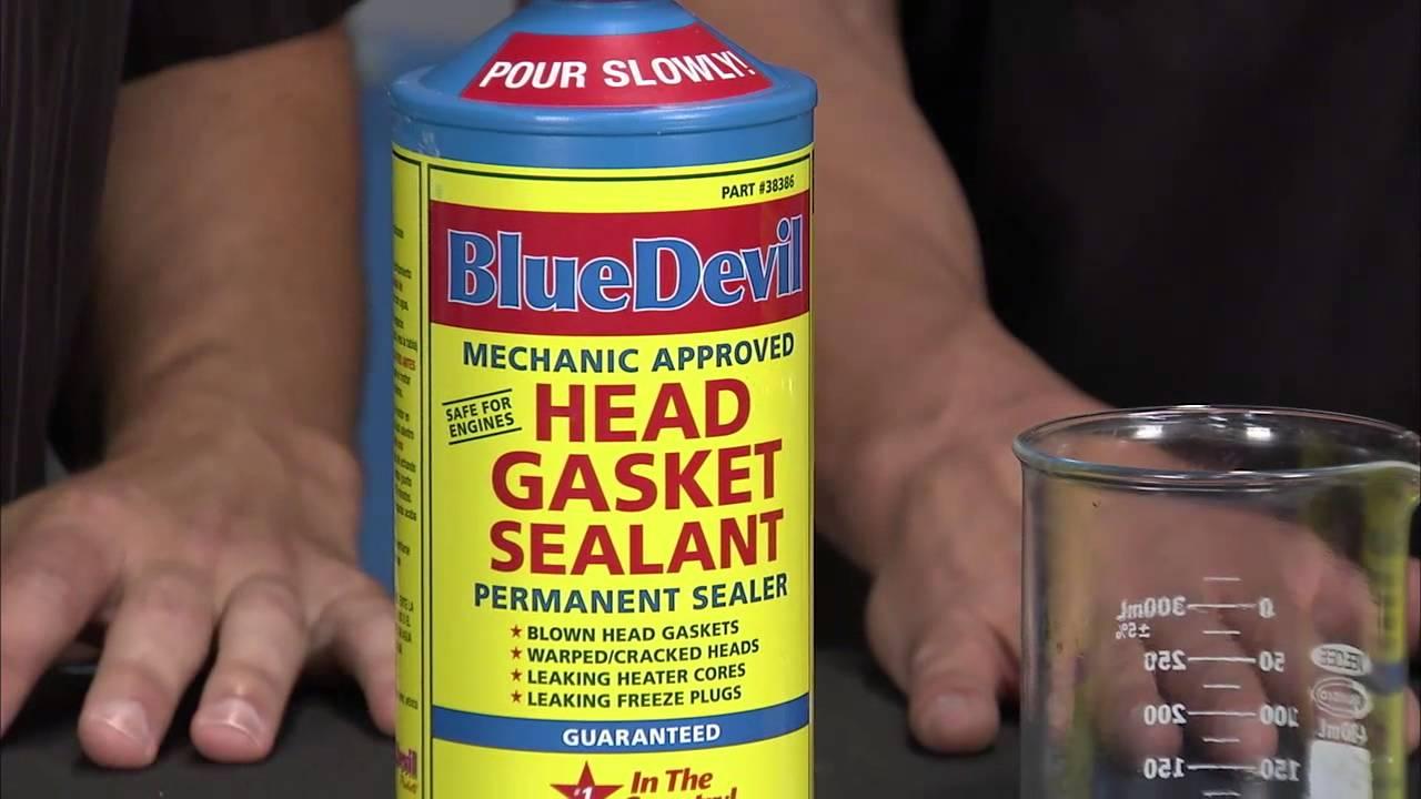 Two Guys Garage: BlueDevil Products Head Gasket Sealer Promo
