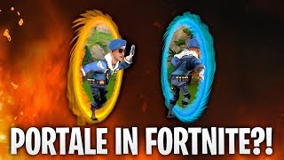 PORTALE IN FORTNITE?! ⭕ | Fortnite: Battle Royale