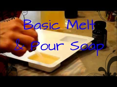 How To Make A Basic Melt And Pour Soap