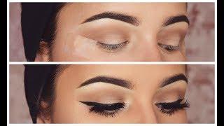 How To: Winged Eyeliner + False Eyelashes for Beginners