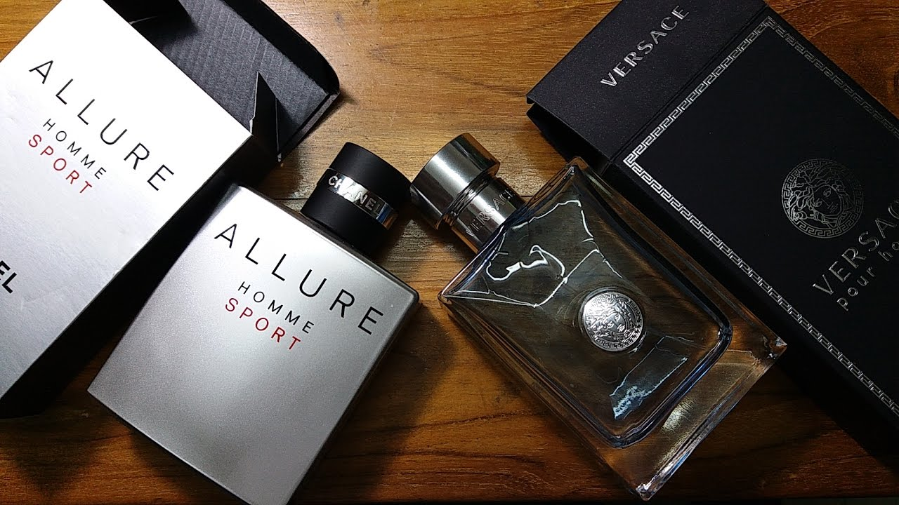 Chanel Allure Homme Sport Vs Versace Pour Homme - YouTube b63e3c45232