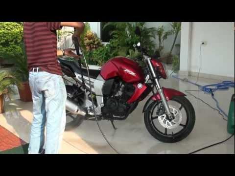 Washing Your Bike with Bosch Aquatak 100