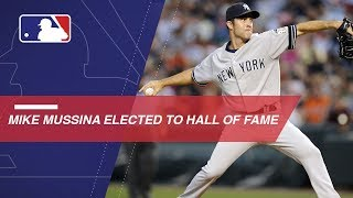 Former Yankee Mussina elected to HOF with 76.7 percent of votes