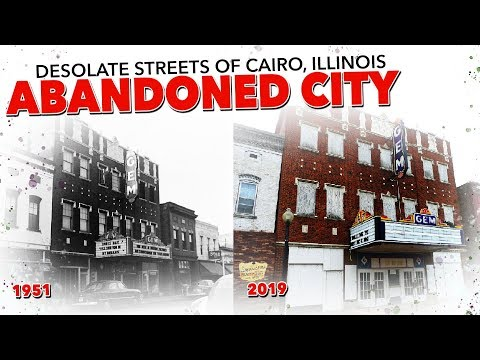 Desolate Streets of Cairo, Illinois Abandoned Video