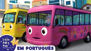 As rodas do ônibus   Versão 8   Canções infantis   LittleBabyBum