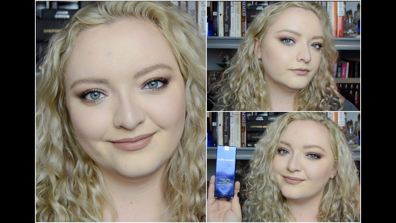 Estee Lauder Double Wear Light 0.5 | Demo + 1st Impression + Review    YouTube