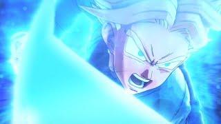 Trunks Spirit Sword Kills Merged Zamasu (w/ DBS Genki Dama Theme) | Dragon Ball Xenoverse 2