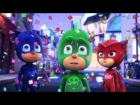 Heroes en Pijamas Capitulos Completos 🎉Compilación de Fiesta 🎉 Dibujos Animados