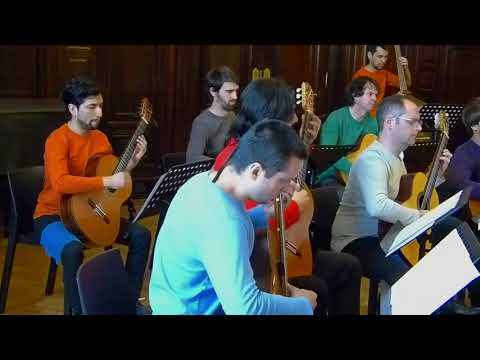 Camerata Argentina de Guitarras - Suite del Ballet Estancia - Alberto Ginastera