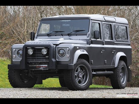 Land Rover Sold, 2016 Defender 110 XS TD manual 'Twisted'