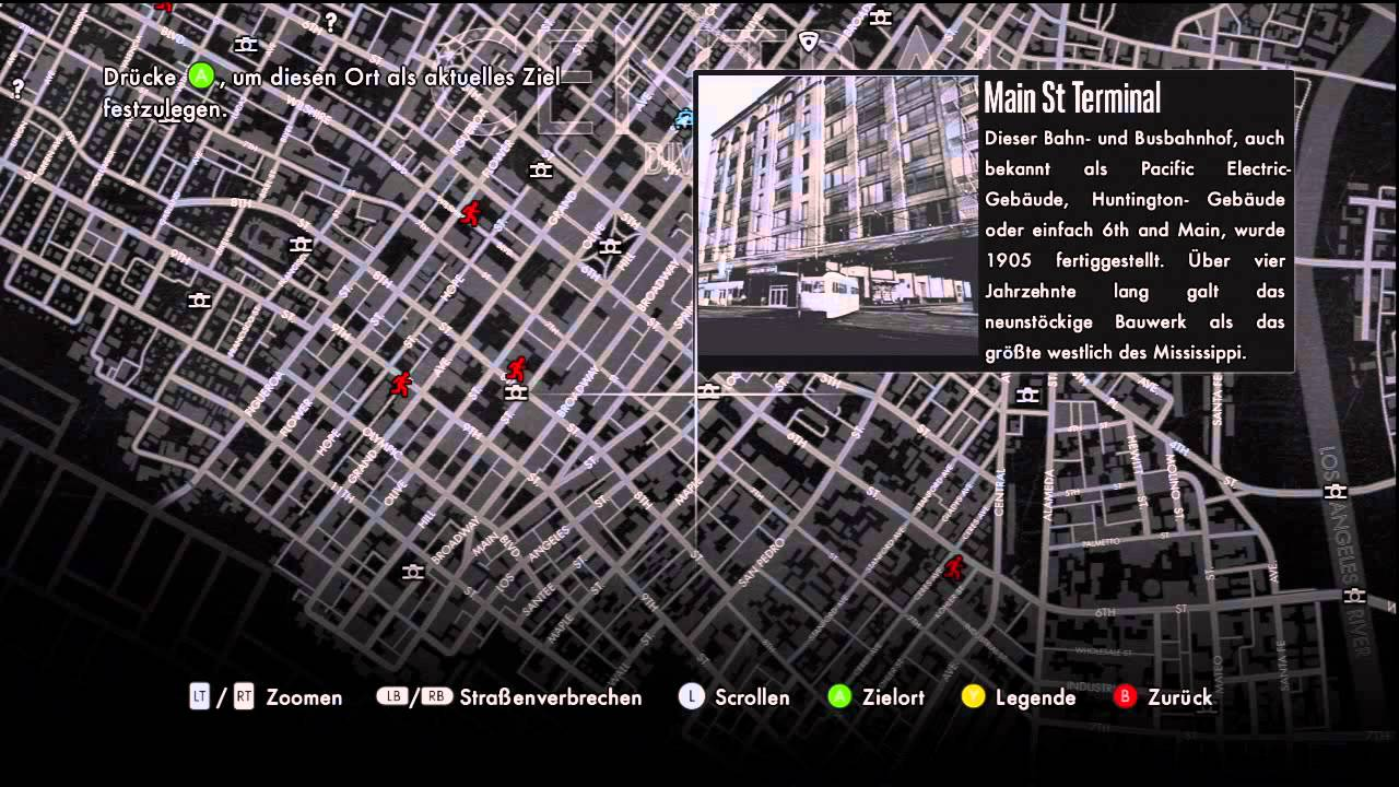 La celebrity map