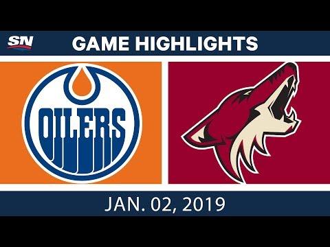 NHL Highlights | Oilers vs. Coyotes - Jan. 2, 2019