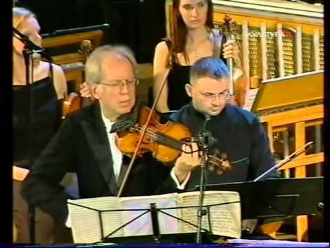 Alfred Schnittke - Concerto Grosso no. 1 - Gidon Kremer / Tatiana Grindenko - live video