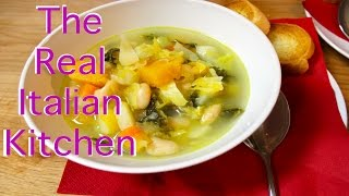 Winter Vegetables Soup - Zuppa Frantoiana - Real Italian Kitchen