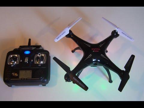 Syma X5SC Quadcopter Camera Drone - Headless Mode