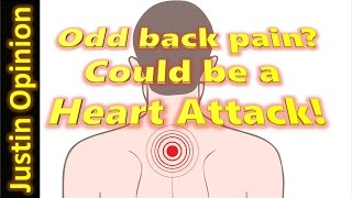 Back Pain - Could Be A Heart Attack