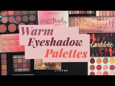 Best & Worst: Warm Toned Eyeshadow Palettes