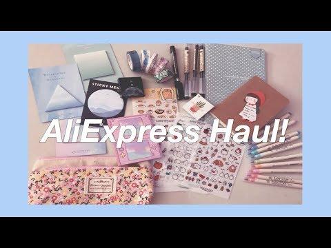 AliExpress Stationery Haul - May 2018