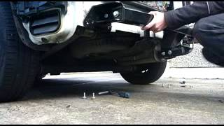 volkswagen caddy tow bar fitting