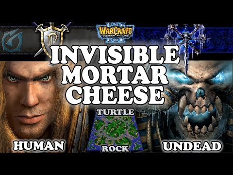 Grubby | Warcraft 3 TFT | 1.29 LIVE | HU v UD on Turtle Rock - Invinsible Mortar Cheese