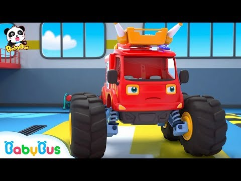 Fire Truck Has a New Mission | Super Firefighters Rescue Team | Kids Role Play | BabyBus