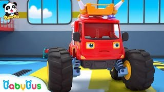 Download Fire Truck Has a New Mission | Super Firefighters Rescue Team | Kids Role Play | BabyBus Mp3 and Videos