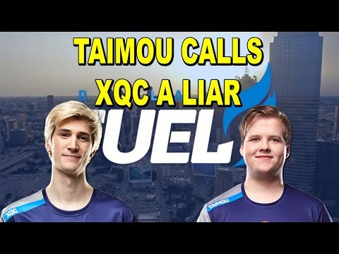 TAIMOU CALLS XQC OUT ON LYING ABOUT DALLAS FUEL! AKM IS THE WORST GENJI IN OWL HISTORY!?