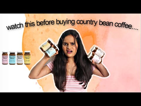 COUNTRY BEAN COFFEE REVIEW| BEST INSTANT COFFEE IN INDIA