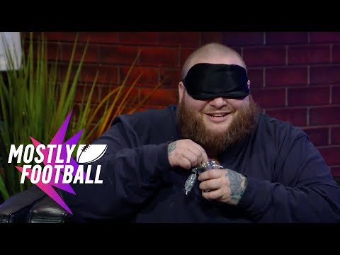 "Action Bronson Plays ""Guess The Weed Strain"" With Martellus Bennett 