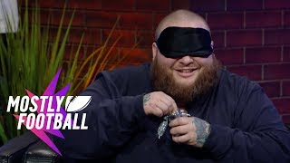 """Action Bronson Plays """"Guess The Weed Strain"""" With Martellus Bennett 