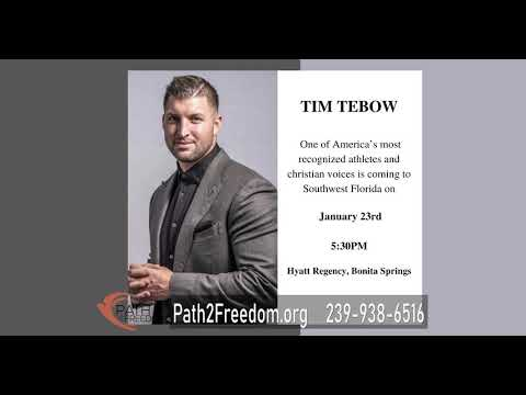 Path2Freedom Announces An Evening With Tim Tebow