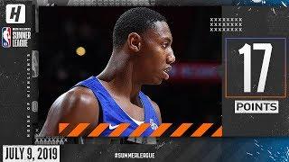 RJ Barrett Full Highlights Knicks vs Raptors (2019.07.09) Summer League - 17 Pts, 10 Reb, 6 Assists!
