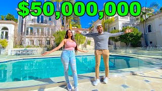 MY $50,000,000 DREAM MANSION TOUR ...