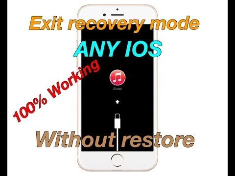 How To Exit Recovery Mode Without Restoring Work Any Ios Worked