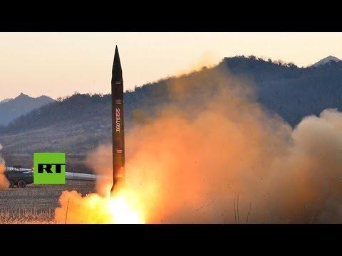 Corea del Norte anuncia el lanzamiento exitoso de un misil que voló 500 kilómetros