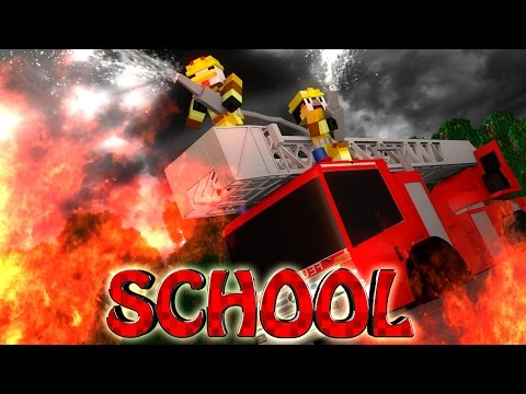 Minecraft School | Military School of Mods - FIRE AND RESCUE!