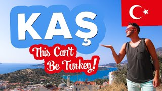 Gambar cover TURKEY'S BEST Kept Secret. Welcome to KAS in Antalya. Travel to the South of Turkey 🇹🇷