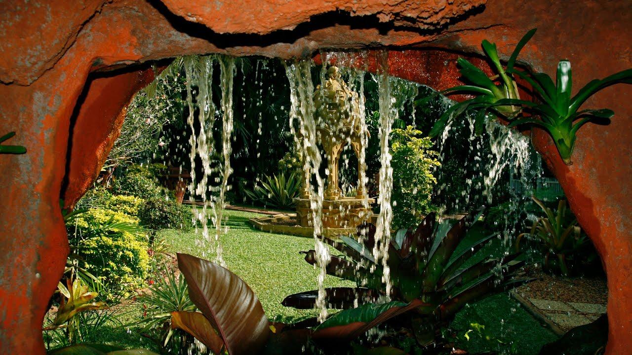 Wonderland tropical garden - YouTube