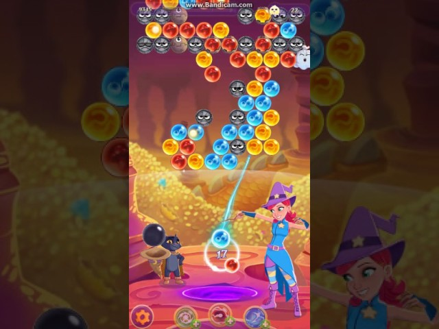 Bubble Witch 3 Saga - Level 93 - Stars 2