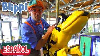 Blippi visita un zoológico (Zoológico y Acuario Point Defiance)  | Videos Educativos