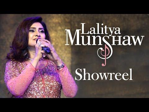 Lalitya Munshaw Showreel   Versatile Singer