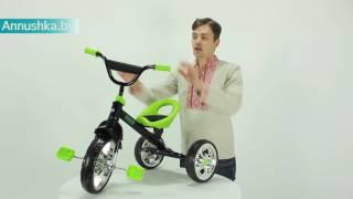 Видео обзор: Toyz York детский трехколесный велосипед