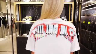 Новая коллекция Philipp Plein Женский образ Фирменный бутик в Лакшери Store Тренды 2020