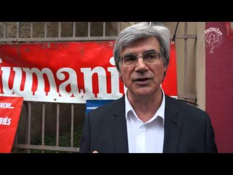 Itv Patrick Le Hyaric directeur du journal l'Humanité