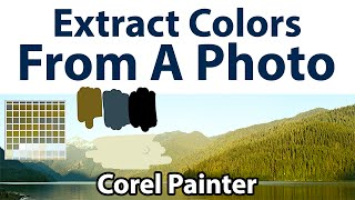 How to Extract a Color Palette From a Photo(Learn how to extract a color palette from a photo using Corel Painter in this short tutorial by Aaron Rutten. • Painter 12 Tutorials: ..., 2013-08-31T00:57:27.000Z)