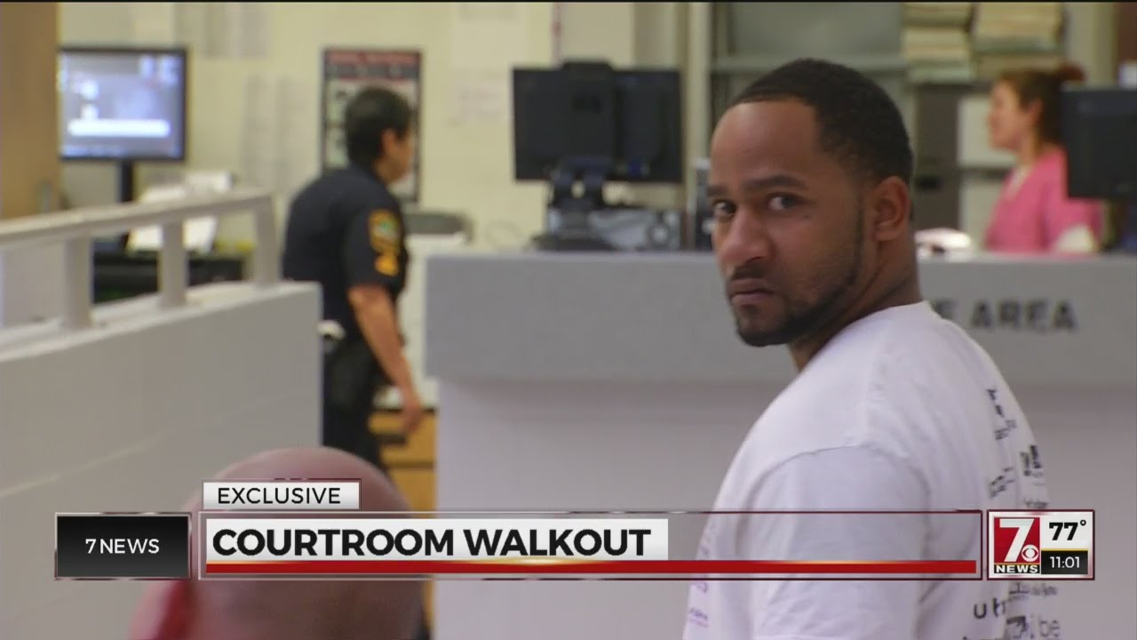 VIDEO: Man deputies say got 11-year-old pregnant storms out of bond hearing