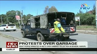 Eight people arrested in riots over garbage collection in Bondeni, Nakuru