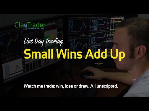 Live Day Trading: Small Wins Add Up